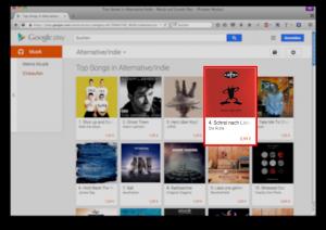 Schrei nach Liebe Platz 4 Alternative Google Play